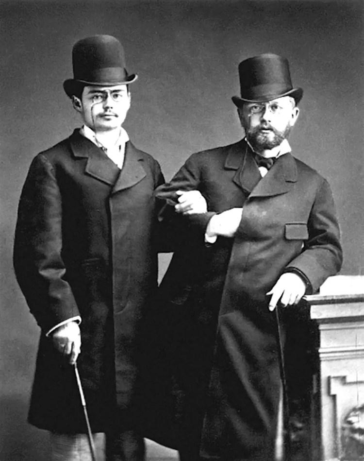 Pyotr Ilyich Tchaikovsky and Iosif Kotek