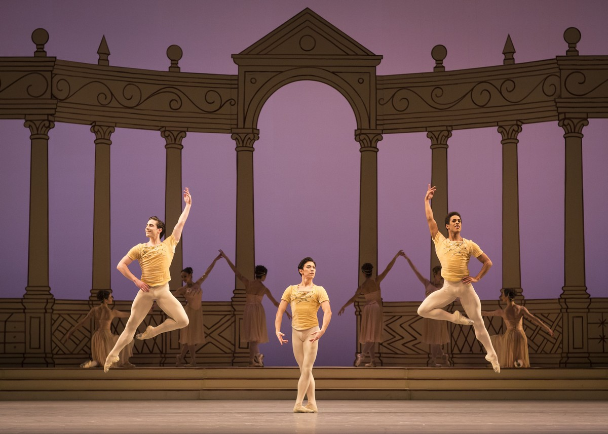 The Royal Ballet in Frederick Ashton's Rhapsody © ROH, 2016. Photograph by Helen Maybanks