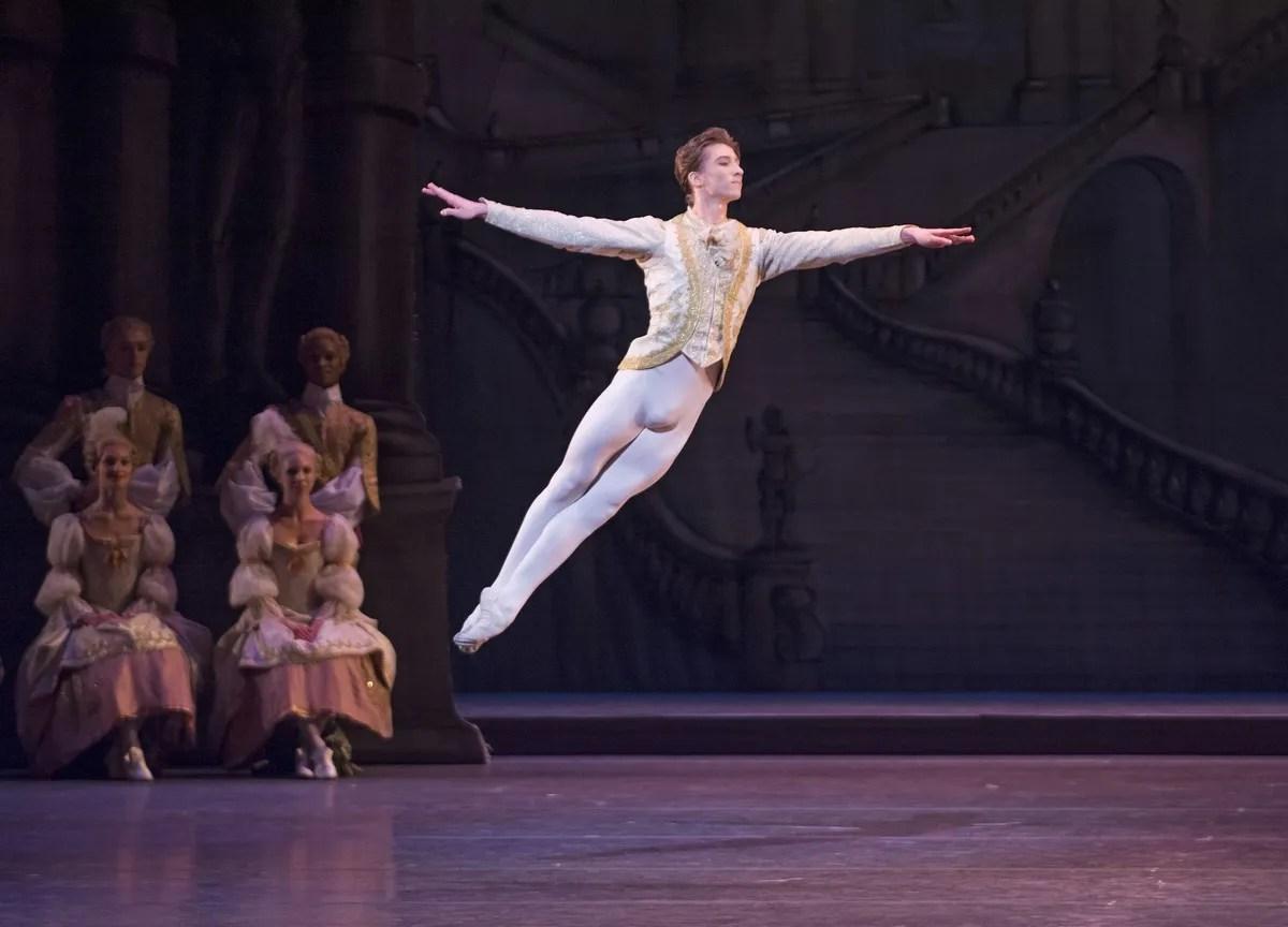 Vadim Muntagirov in The Sleeping Beauty, The Royal Ballet ©ROH_Tristram Kento