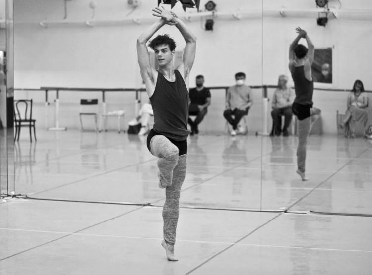 Davide Dato rehearses Uwe Scholz's Rite of Spring © Giuseppe Distefano - 6