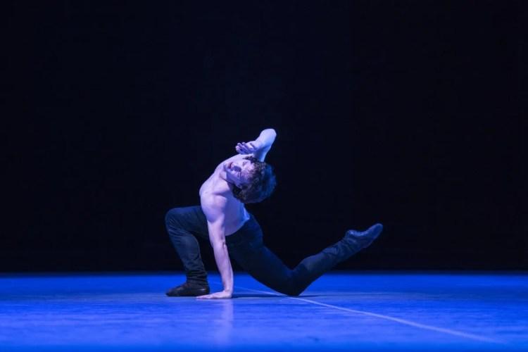 Jacopo Bellussi in Peter and Igor, Nijinsky Gala, Hamburg 2021 36 © Kiran West
