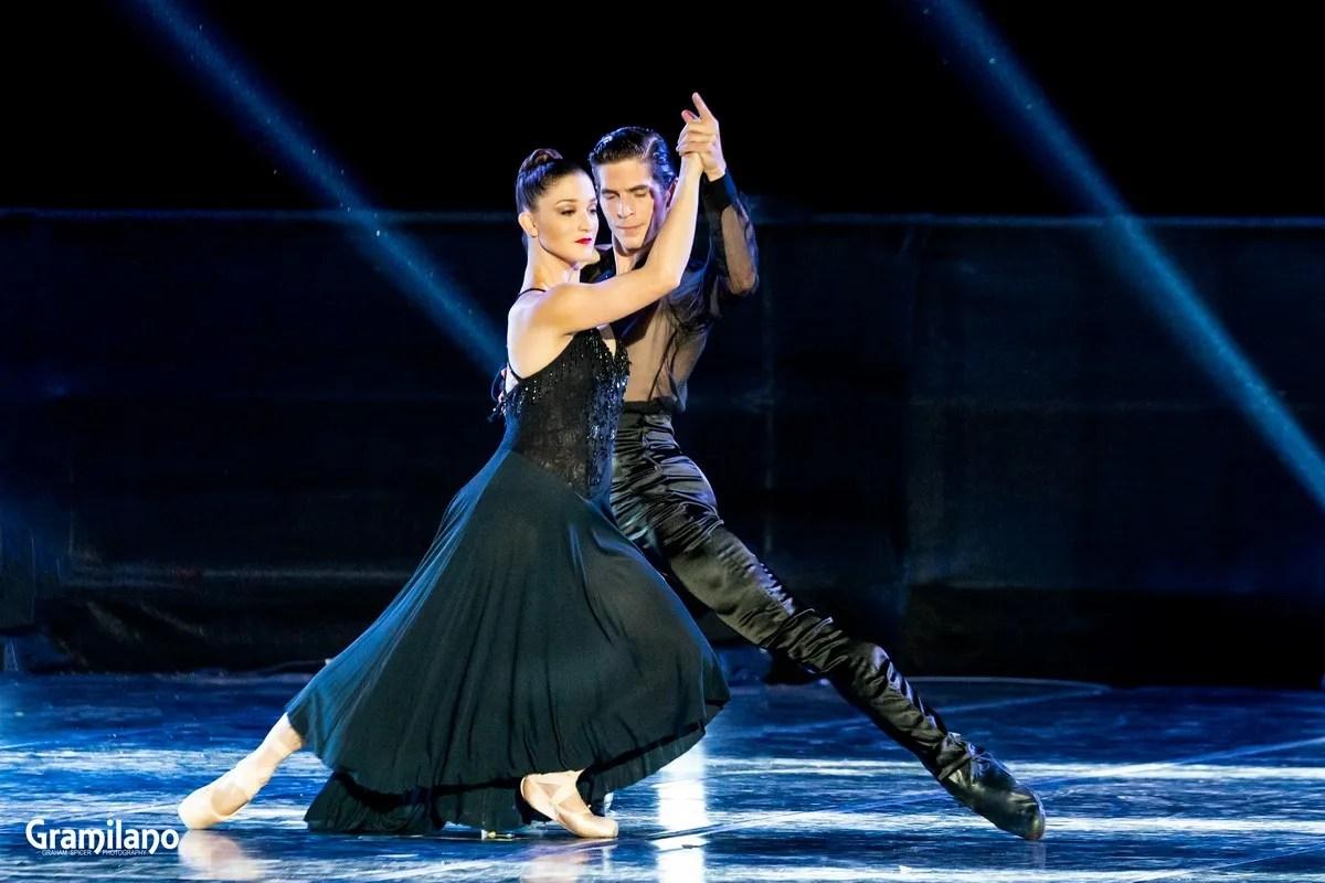 Sergio Bernal and Ashley Bouder in Histoire du soldat, Stravinsky's Love © Graham Spicer