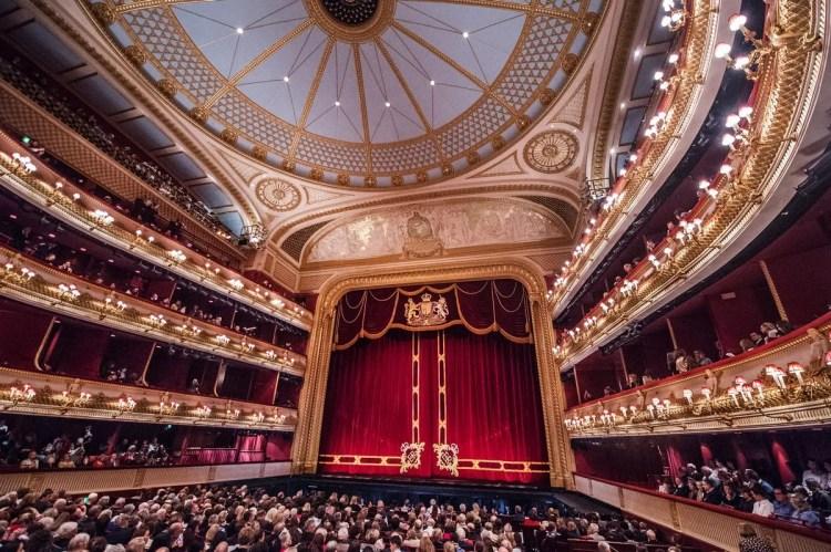 The Royal Opera House auditorium © 2016 ROH. Photographer Sim Canetty-Clarke