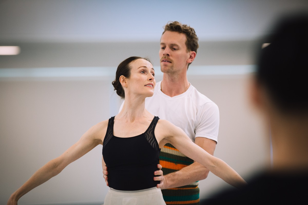 Amber Scott and Adam Bull, The Australian Ballet, 2019. Photograph by Kate Longley