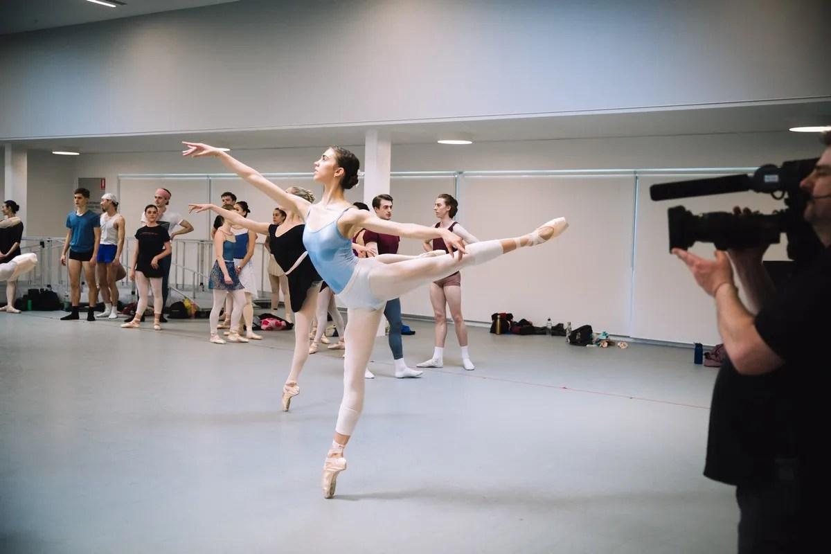 Isobelle Dashwood, The Australian Ballet, World Ballet Day 2019. Photograph by Kate Longley