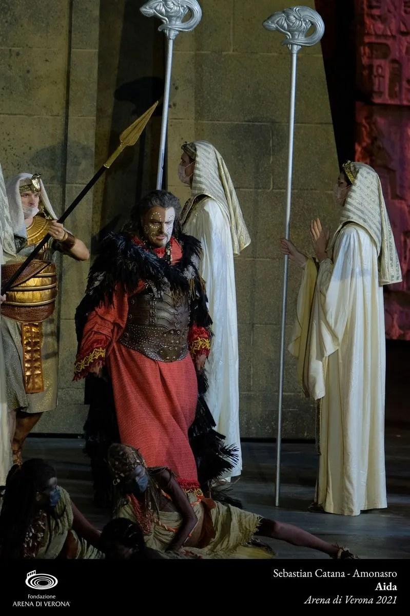 Sebastian Catana in Aida, Verona 2021