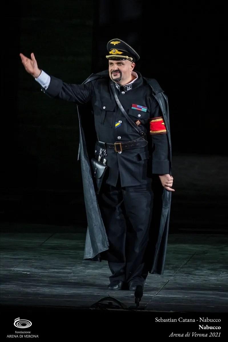 Sebastian Catana in Nabucco, Verona 2021