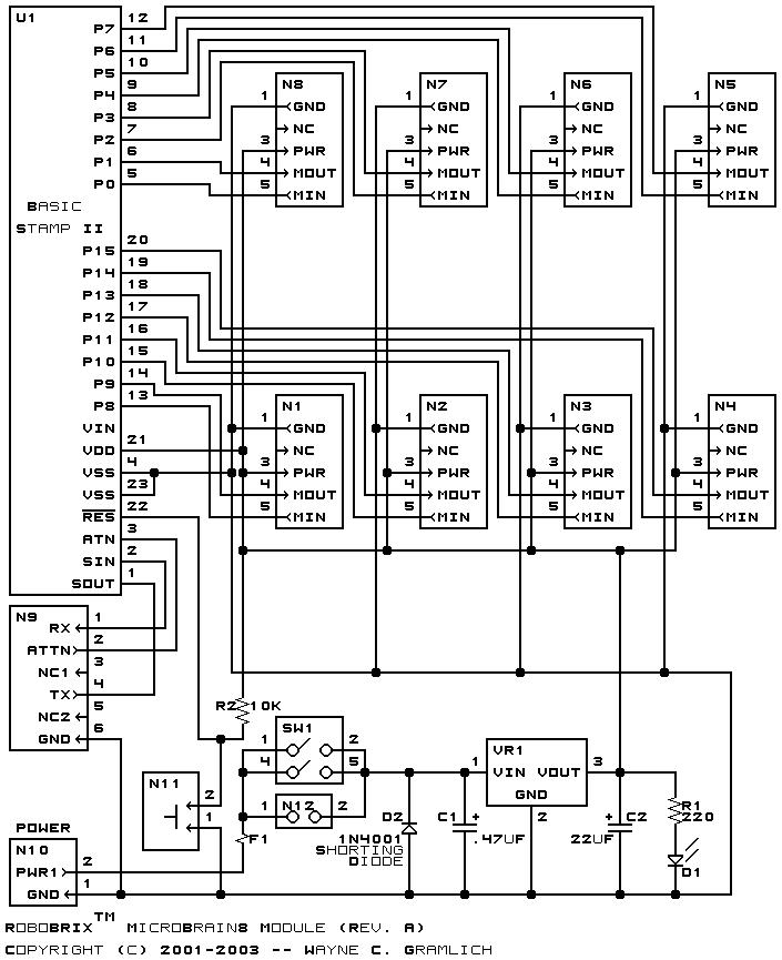 RoboBRIX ™ MicroBrain8 (Revision A)