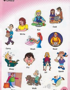 Verbs pictures for kids also to download and print rh grammarbank