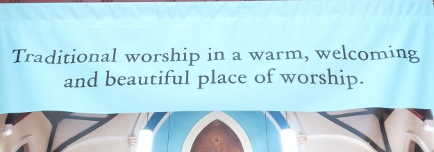 This church needs heavenly punctuation guidance.