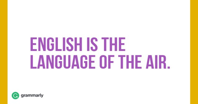 English-is-the-language-of-the-air