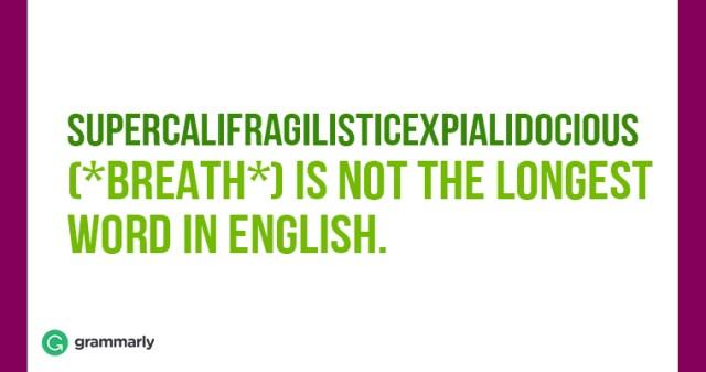 Supercalifragilisticexpialidocious-