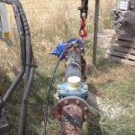 In fase di sostituzione la pompa idrica nel pozzo di Pietre nere a Grammichele.