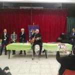 Mons. Antonio Staglianò  tra gli studenti di Grammichele con il ruolo della musica nella loro vita