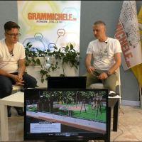 """""""GRAMMICHELE.EU ospita"""" A. Aiossa - progetto riqualificazione bambinopoli piazza Dante"""