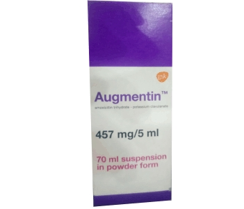 augmentin 457mg/5ml