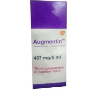 augmentin 457mg/5ml