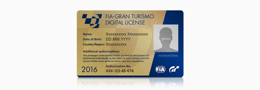 FIA Gran Turismo Digital License