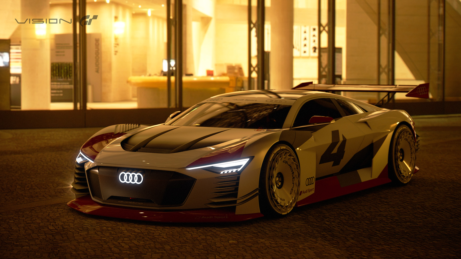 Gta V Car Wallpaper Audi Introduces Two New Vision Gran Turismo Cars The