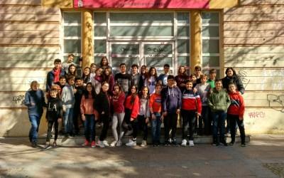 Los alumnos de 1ºB de ESO visitan la Casa Escuela