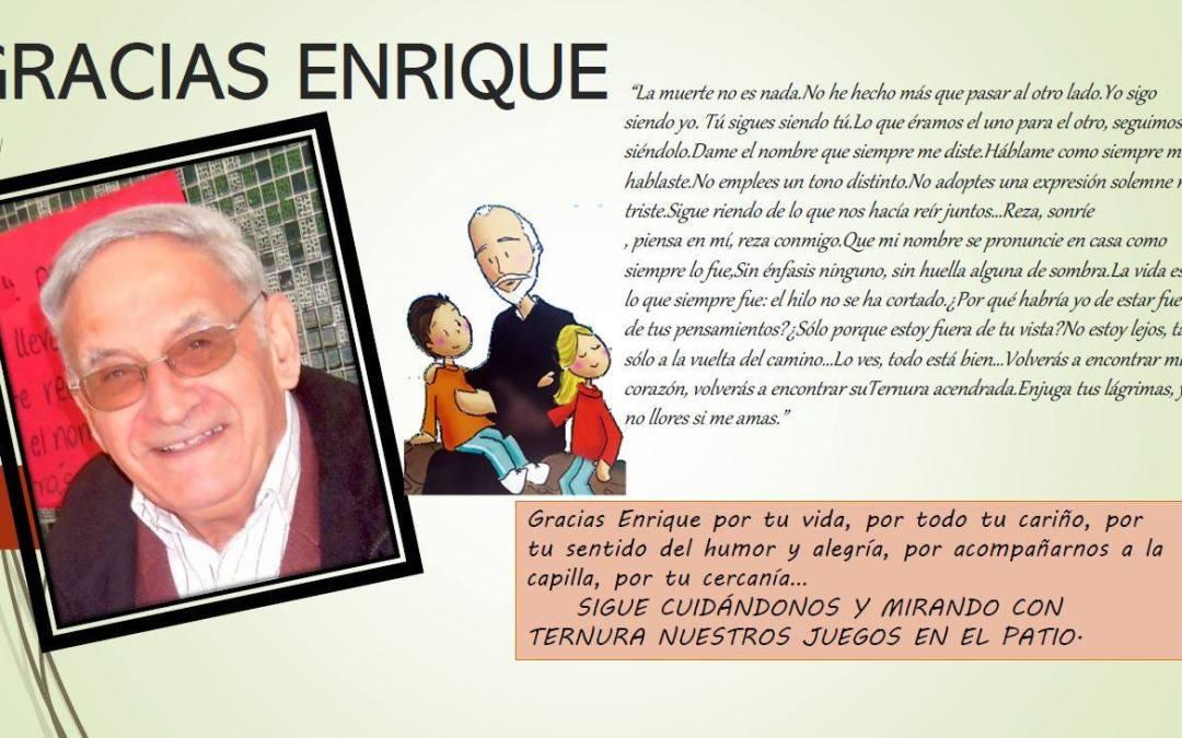 Fallecimiento del P. Enrique Villegas