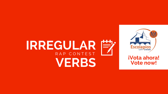 Irregular Verbs Rap Contest – Vote now!