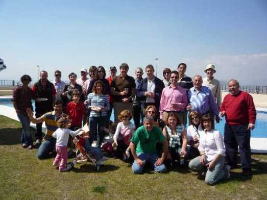 Vecinos de San Jerónimo con el equipo de gobierno del Ayuntamiento