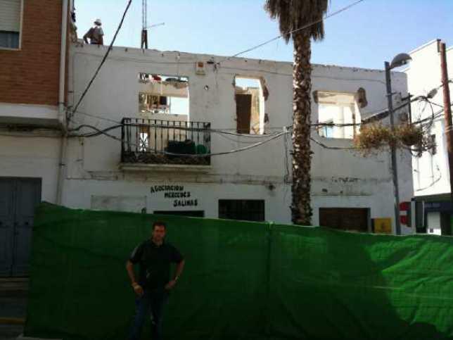 El próximo lunes se demolerá el antiguo Ayuntamiento de Jun