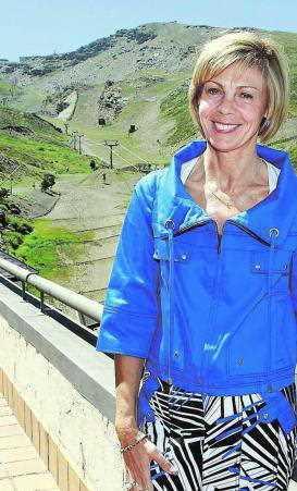 La Directora General de CETURSA, María Jose Lopez