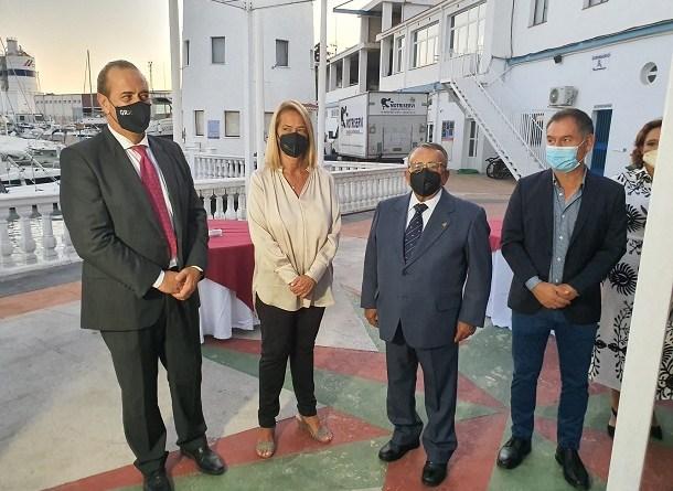 LA ALCADESA DE MOTRIL DESTACA LA LABOR SOCIAL Y DEPORTIVA DEL REAL CLUB NÁUTICO DE MOTRIL.