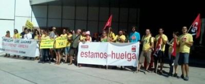 Huelga Parque Ciencias Queronea