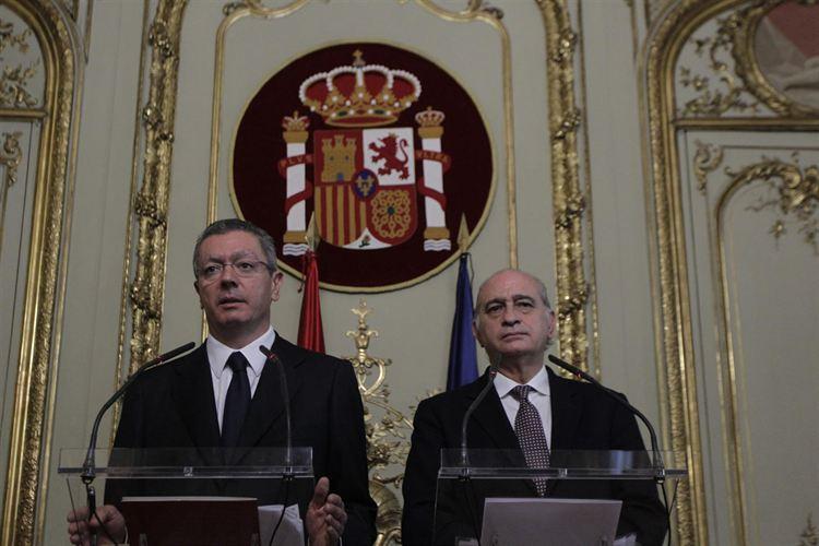 Gallardón y Jorge Fernández