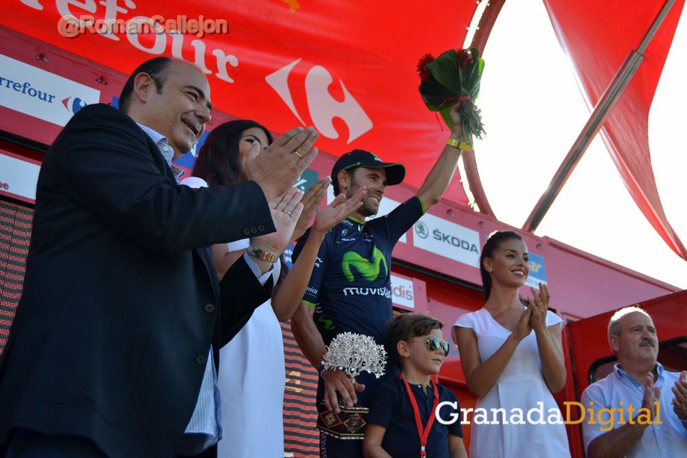 La Vuelta 2014 40 Valverde Sebastián Pérez