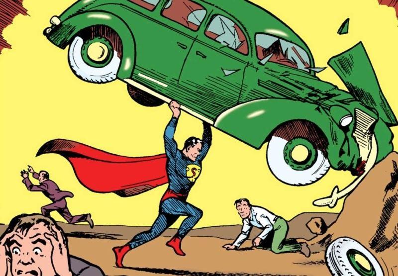 primer comic superman