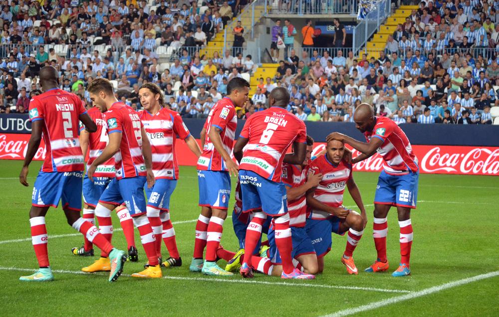 Granada CF Malaga Gol El Arabi