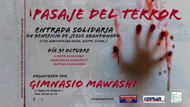 Pasaje Terror Mawashi solidario