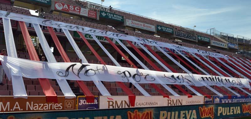 Tifo Granada CF Real Madrid 1