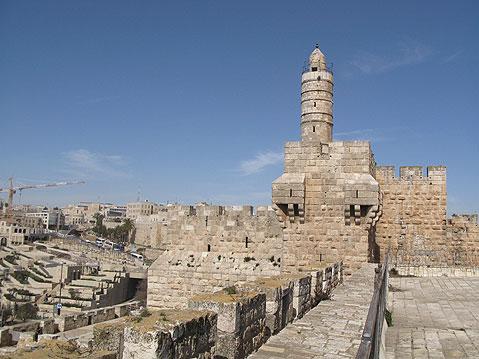 Torre de David  Ciudad Vieja de Jerusalén.