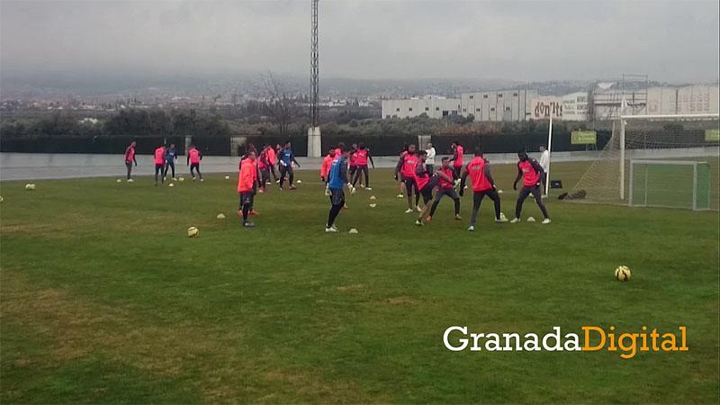 15-02-13 Granada CF entrenamiento