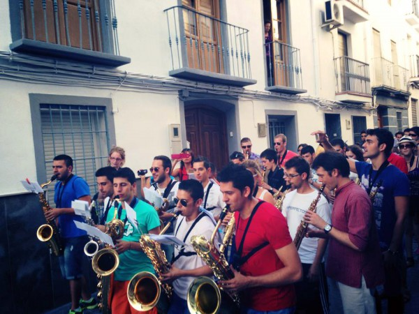Saxofón Montefrío