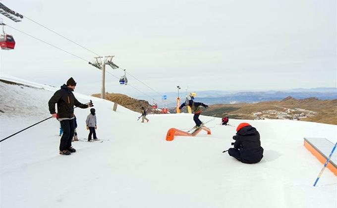 snow park sierra nevada