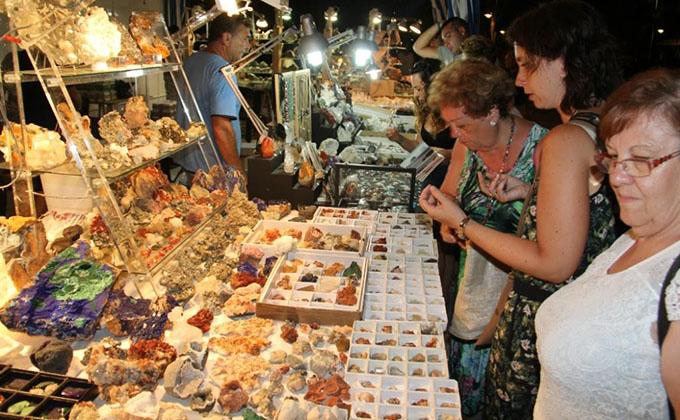 Feria de los minerales Almuñécar
