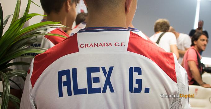 Presentación Primera equipación camiseta Granada CF rojiblanco-22