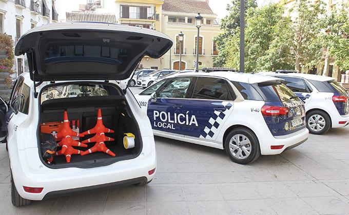 Vehículos de la Policía Local