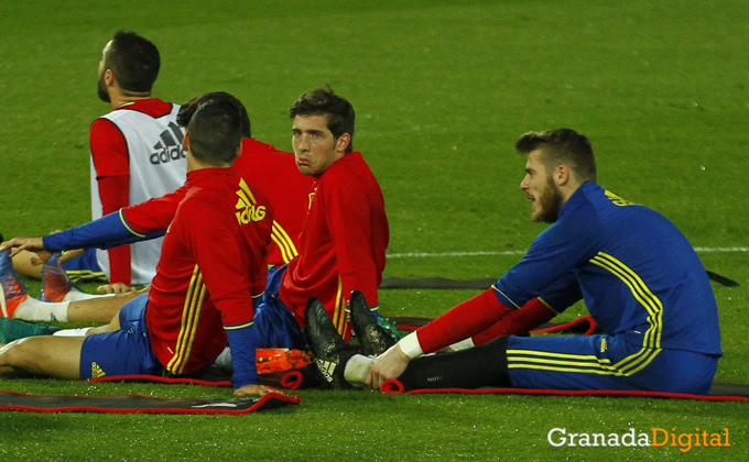 Entrenamiento de España ( Training´s Spain )
