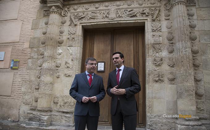 Alcalde francisco cuenca museo arqueologico subdelegado del gobierno francisco fuentes