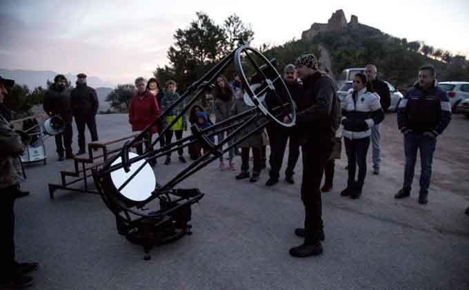 turismo astronómico piñar