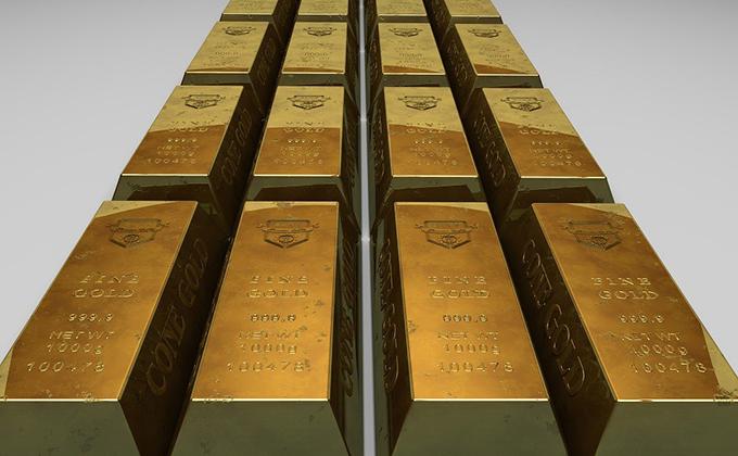 lingotes de oro