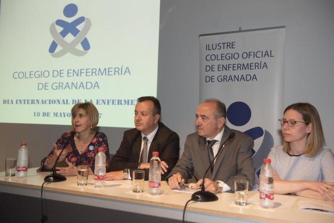 Apertura homenaje Enfermería Granada 1