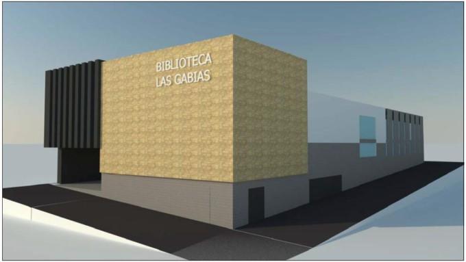 infografia biblioteca Las Gabias